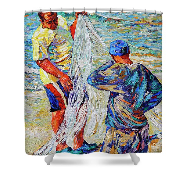 No Fish Today Shower Curtain