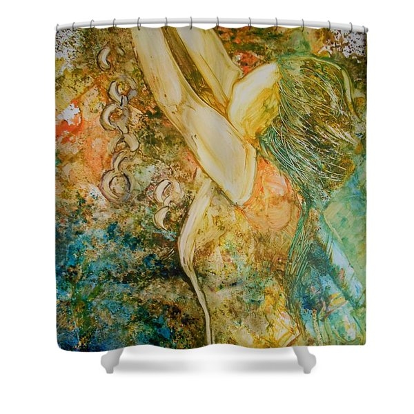 No Longer A Slave To Fear Shower Curtain