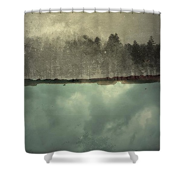 No One Ever Leaves  Shower Curtain