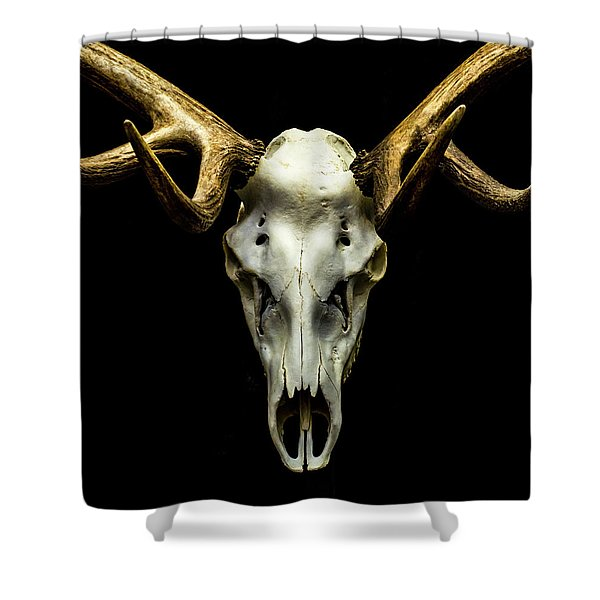 No One Gets Out Alive Shower Curtain