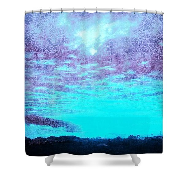 No Ordinary Sunset Shower Curtain