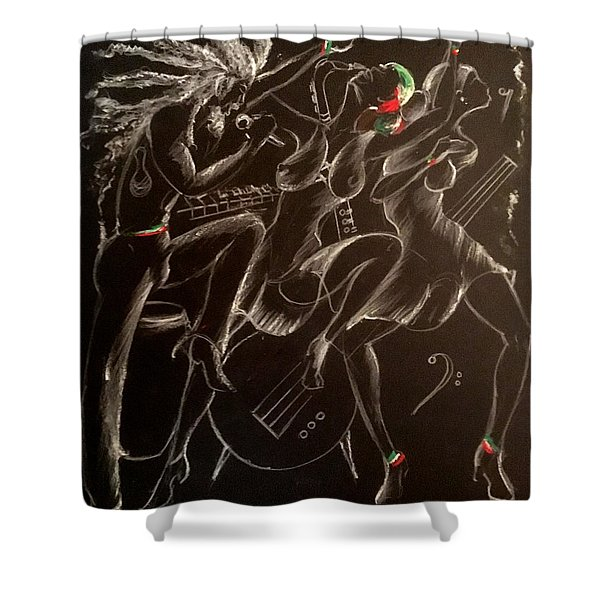No Pain Shower Curtain