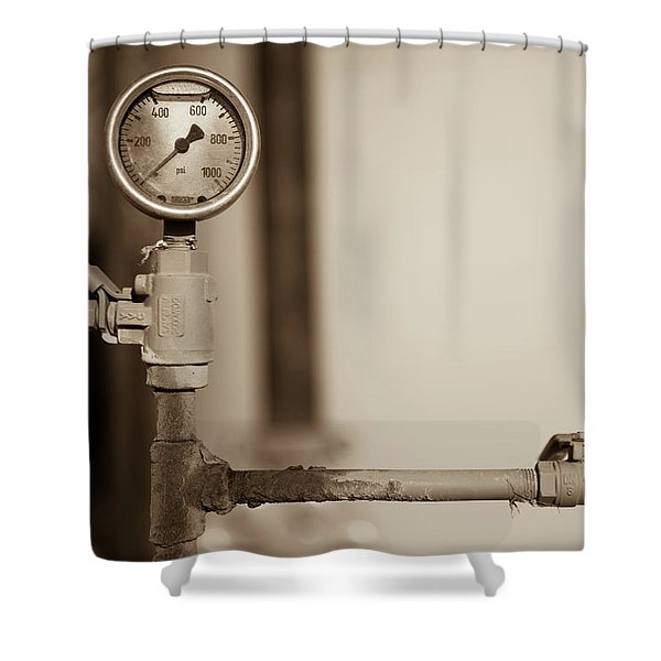 No Pressure Shower Curtain