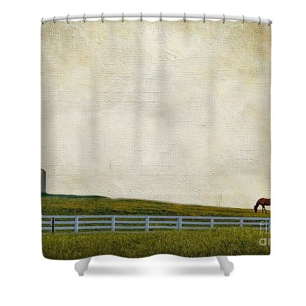 No Time Shower Curtain