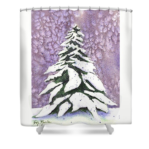 No Tinsel Needed Shower Curtain