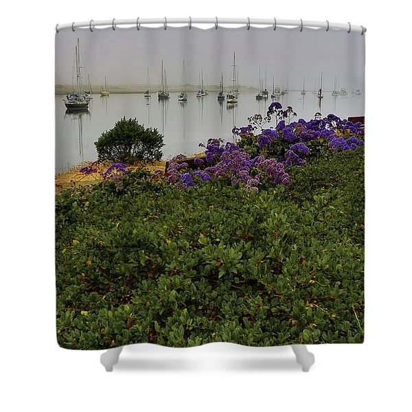 No Wind For Sailing Shower Curtain