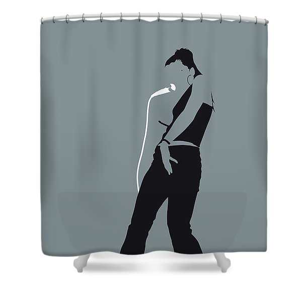No077 My Nelly Furtado Minimal Music Poster Shower Curtain