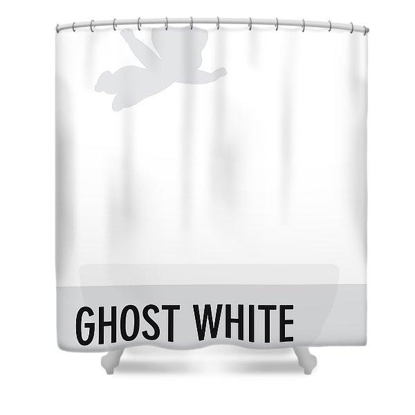 No09 My Minimal Color Code Poster Casper Shower Curtain