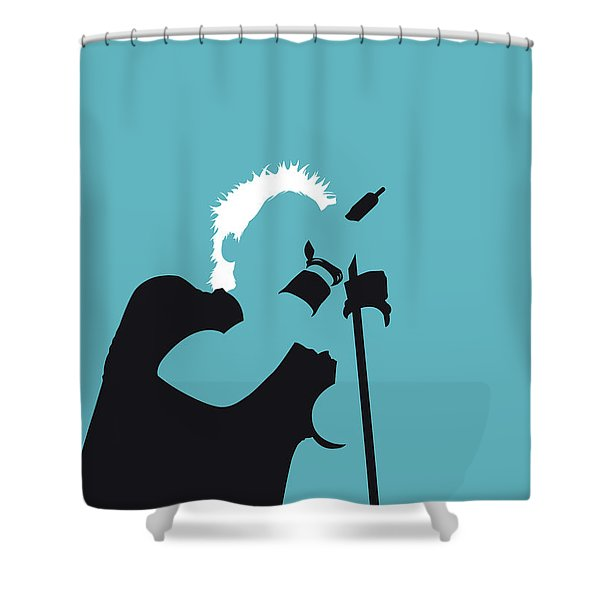 No095 My The Offspring Minimal Music Poster Shower Curtain