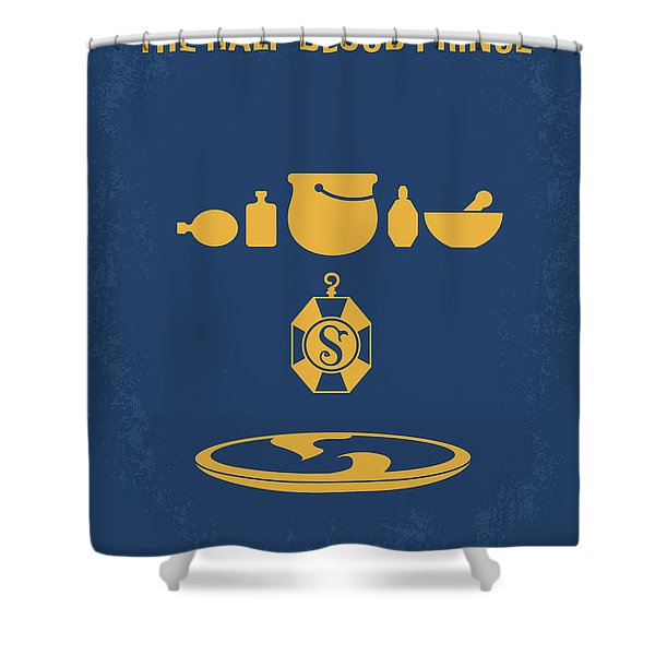 No101-6 My Hp - Half Blood Prince Movie Poster Shower Curtain