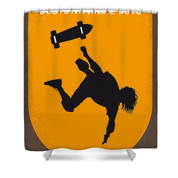 No450 My Dogtown And Z-boys Minimal Movie Poster Shower Curtain
