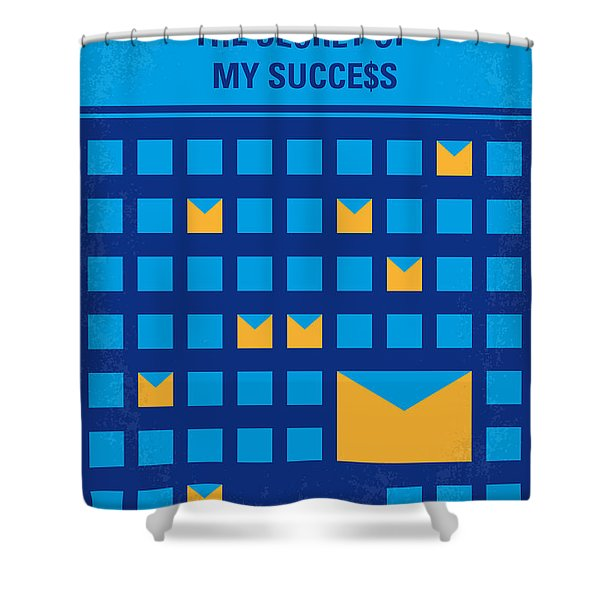 No464 My The Secret Succes Minimal Movie Poster Shower Curtain