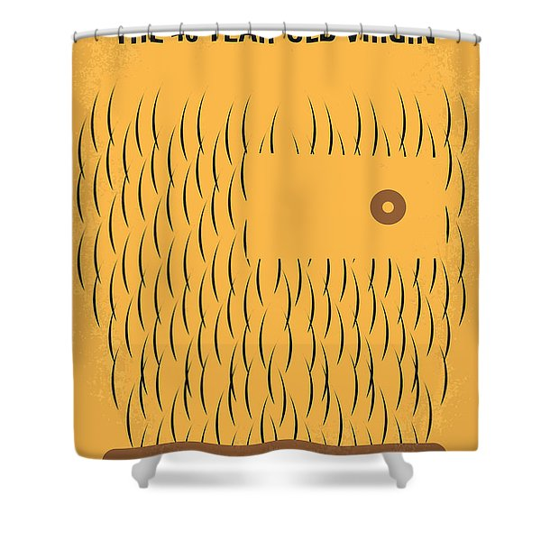 No465 My The 40 Year Old Virgin Minimal Movie Poster Shower Curtain