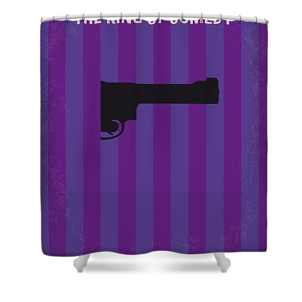 No496 My The King Of Comedy Minimal Movie Poster Shower Curtain