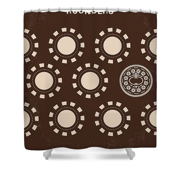 No503 My Rounders Minimal Movie Poster Shower Curtain