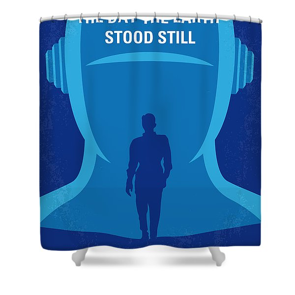 No514 My The Day The Earth Stood Still Minimal Movie Poster Shower Curtain