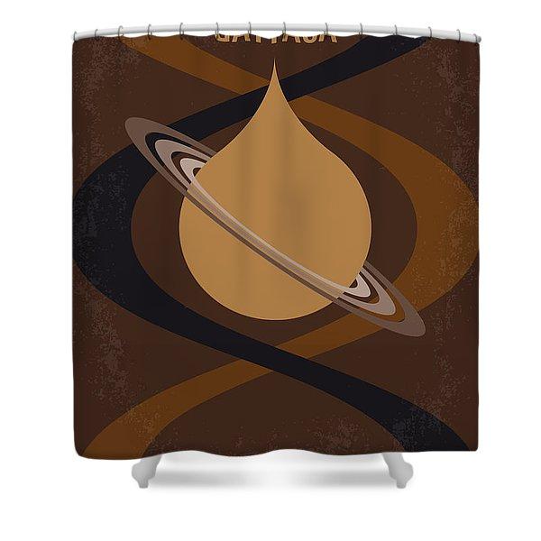 No588 My Gattaca Minimal Movie Poster Shower Curtain