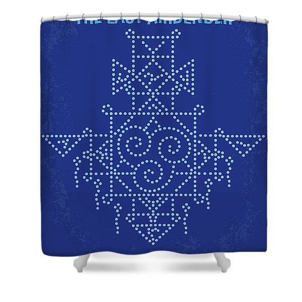 No764 My The Last Airbender Minimal Movie Poster Shower Curtain