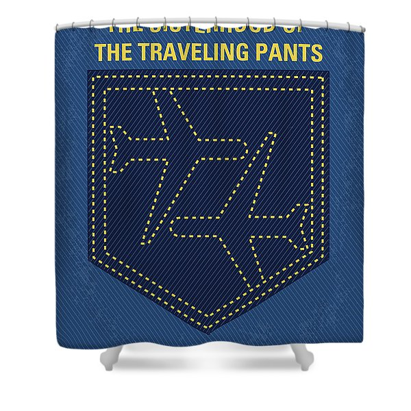 No826 My The Sisterhood Of The Traveling Pants Minimal Movie Poster Shower Curtain