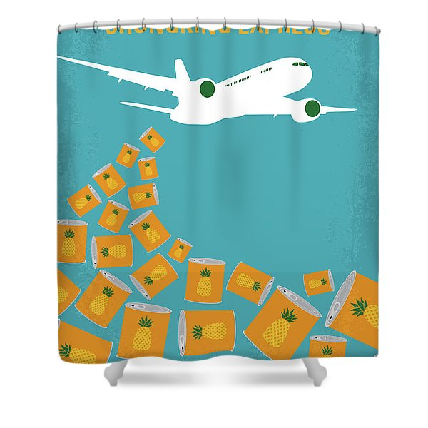 No835 My Chungking Express Minimal Movie Poster Shower Curtain