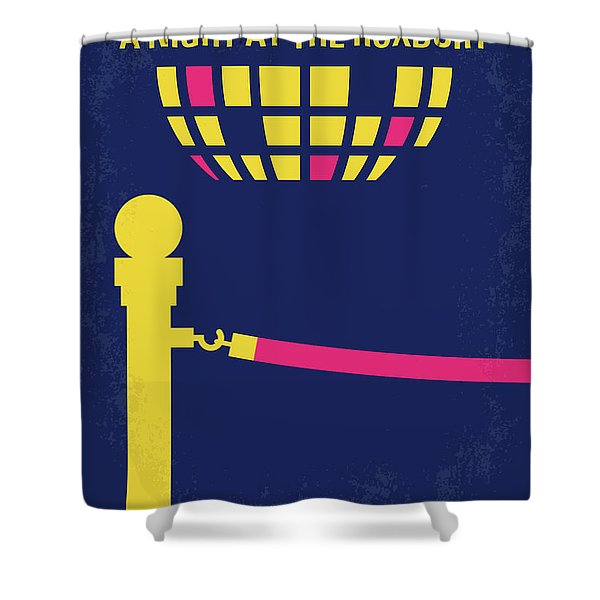 No864 My A Night At The Roxbury Minimal Movie Poster Shower Curtain