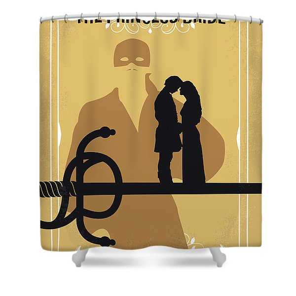 No877 My The Princess Bride Minimal Movie Poster Shower Curtain