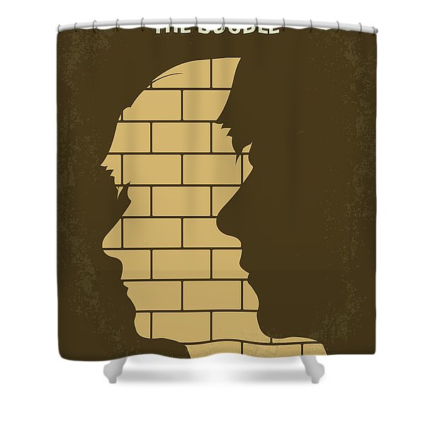 No936 My The Double Minimal Movie Poster Shower Curtain