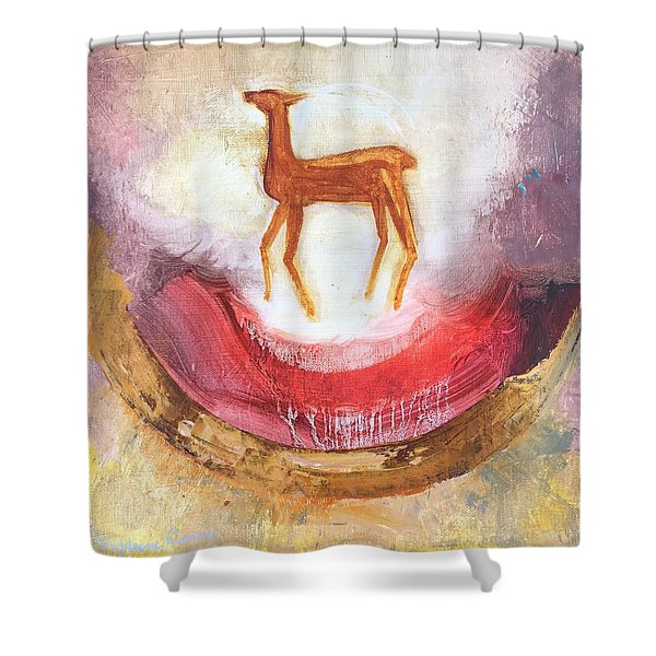 Noble Deer Shower Curtain