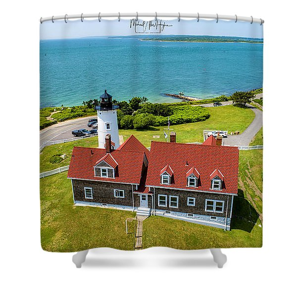Nobska Light House  Shower Curtain
