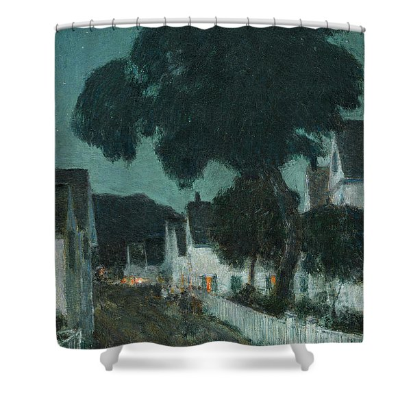 Nocturne. Provincetown Shower Curtain