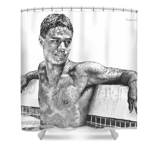 Nohea In The Pool Shower Curtain