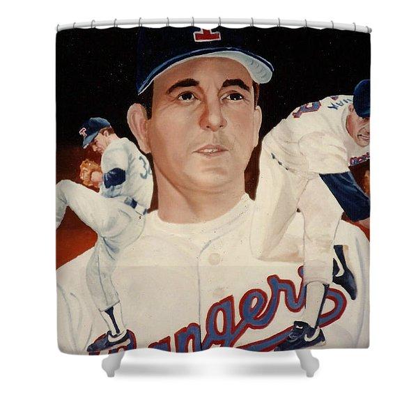 Nolan Ryan Medley Shower Curtain