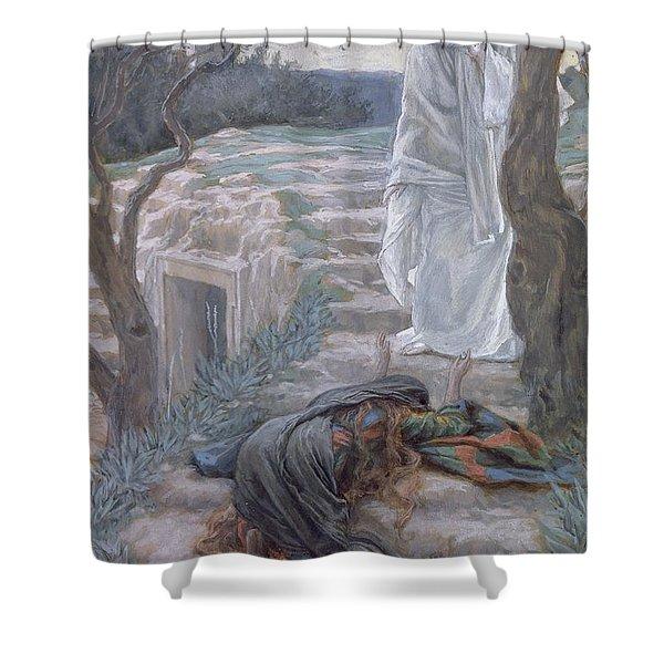 Noli Me Tangere Shower Curtain