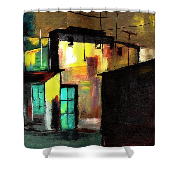 Nook Shower Curtain