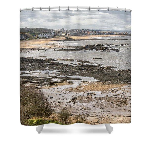 North Berwick, East Lothian Shower Curtain