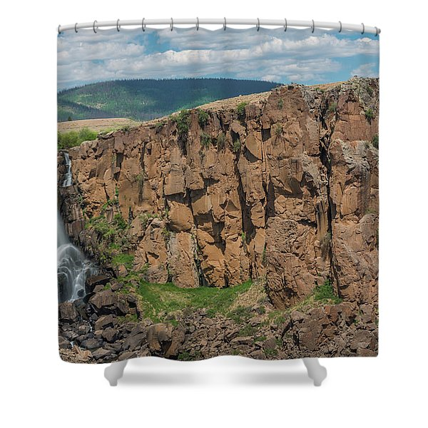 North Clear Creek Falls, Creede, Colorado 2 Shower Curtain