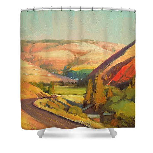 North Fork Touchet Shower Curtain