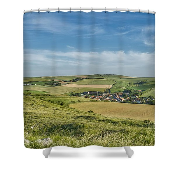 North French Scenery Shower Curtain
