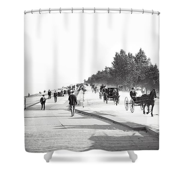 North Lake Shore Drive - Chicago 1905 Shower Curtain