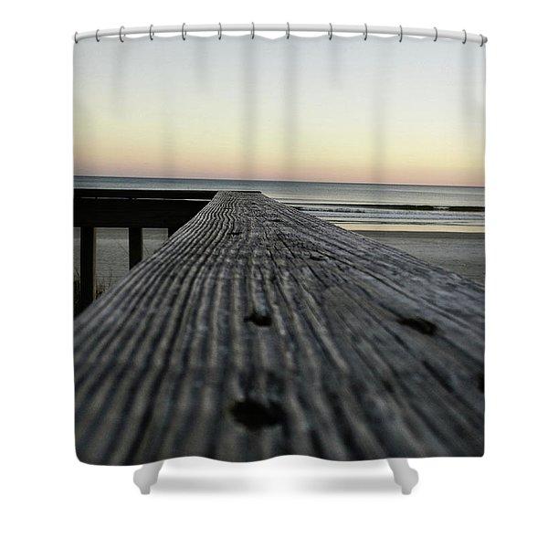 North Myrtle Beach Evening Shower Curtain