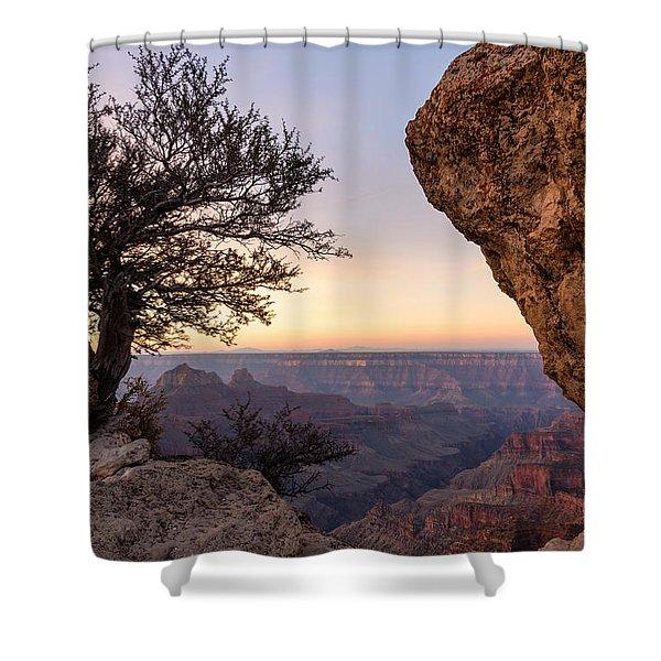 North Rim Sunrise 4 - Grand Canyon National Park - Arizona Shower Curtain