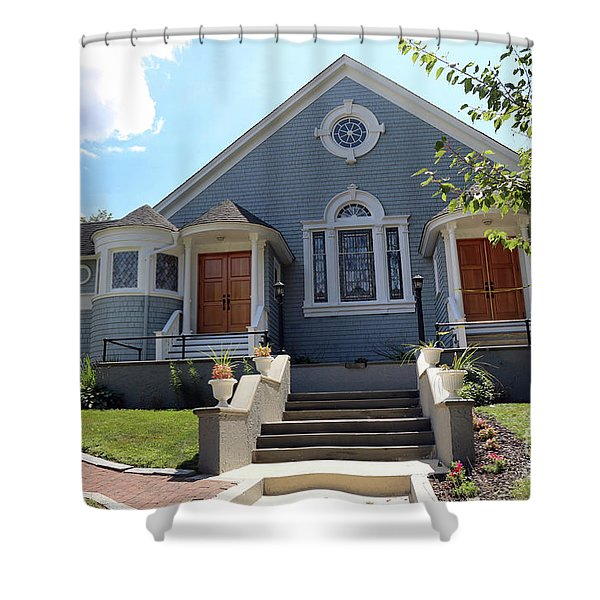 North Shore Assembly Of God Church Shower Curtain