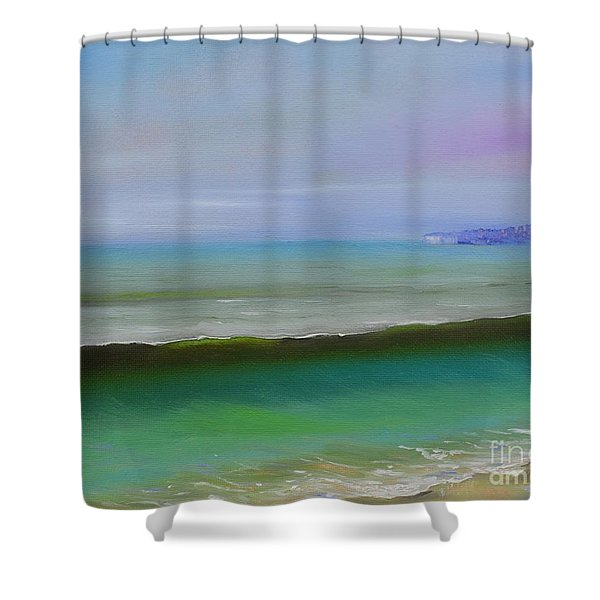 North To Dana Point Shower Curtain