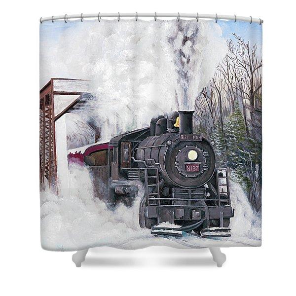 Northbound At 35 Below Shower Curtain
