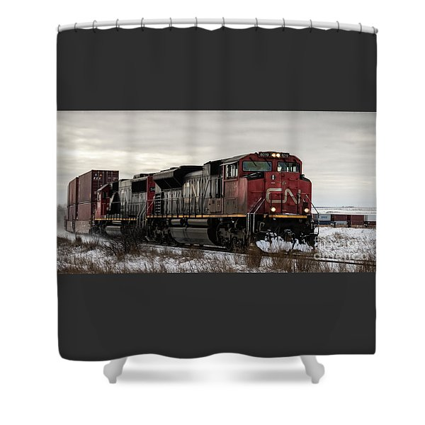 Northbound Double Stack Shower Curtain