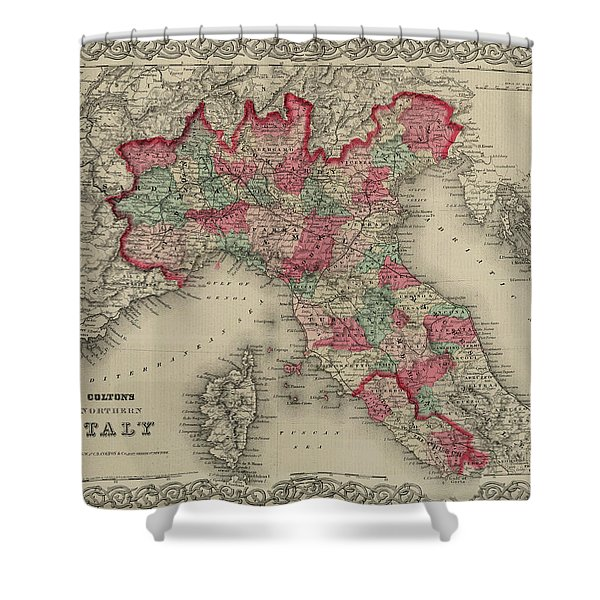 Northern Italy Shower Curtain