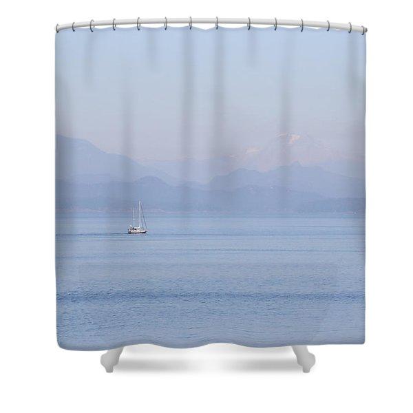 Northshore Sailing Shower Curtain