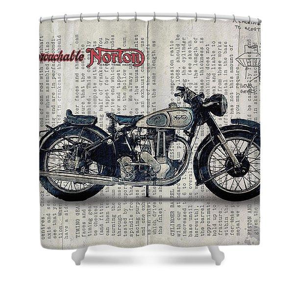 Norton Es 2 1948 Shower Curtain