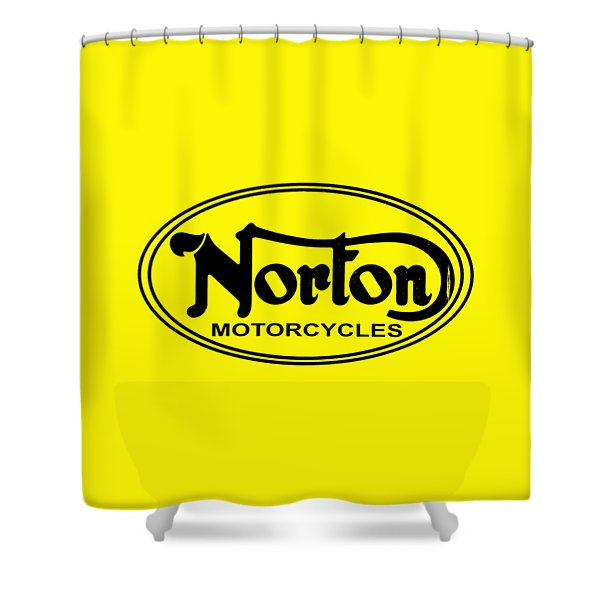 Norton Motorcycles Shower Curtain