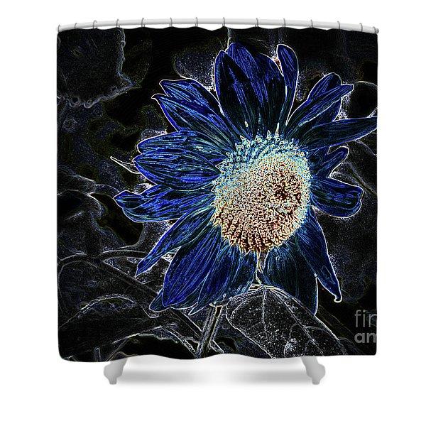 Not A Sunflower Now Shower Curtain